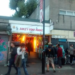 Ridley Road Market Bar - London, Cumbria, Royaume-Uni