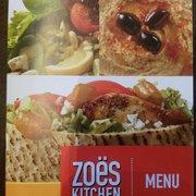 Zoës Kitchen - Menu - Dallas, TX, Vereinigte Staaten