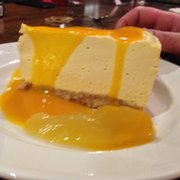Mango cheesecake heaven