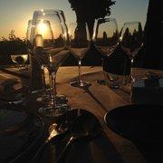 Le Saint James - Restaurant - Bouliac, Gironde, France. A beautiful sunset
