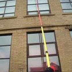 water fed pole window cleaner