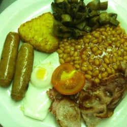 A full English with Tea and Orange, very…