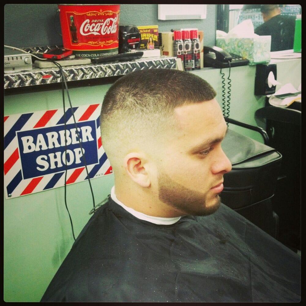 Classic Barber Shop - Riverside, CA, United States. Beard line up