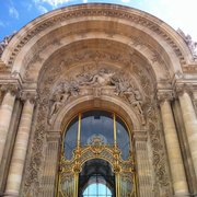 La belle entrée du grand palais