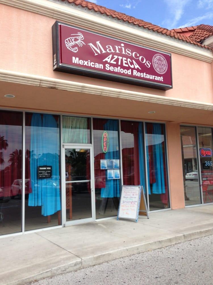 Mariscos azteca mexican seafood restaurant sarasota fl for Sarasota fish restaurants