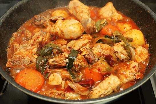 Kimchi - Spicy Chicken Stew with potato / carrot - Pleasanton, CA ...