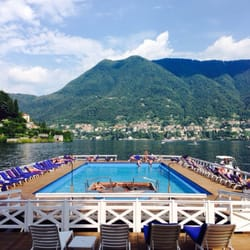 A view of Lake Como as seen from one of…