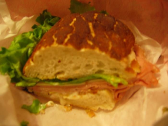 Mortadella Sandwich Mortadella Sandwich on Dutch