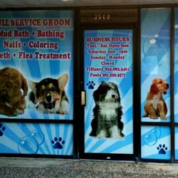 Snazzy paws pet salon pet groomers seabrook tx for 4 paws pet salon