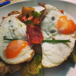 Amazing Brunch! Very creative names of…