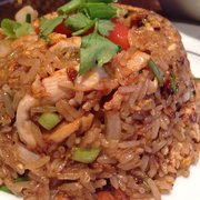 Osha Thai - San Francisco, CA, États-Unis. Pineapple Fries Rice