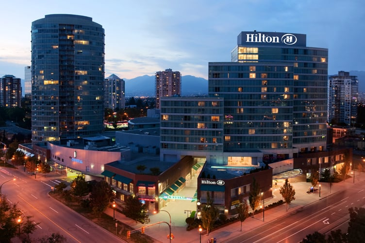 Hotels Near The Hilton Vancouver