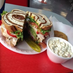 Tony's Delicatessen & Catering - An amazing California Club sandwich... Because lunch here at Tony's is far from ordinary! - Sacramento, CA, Vereinigte Staaten