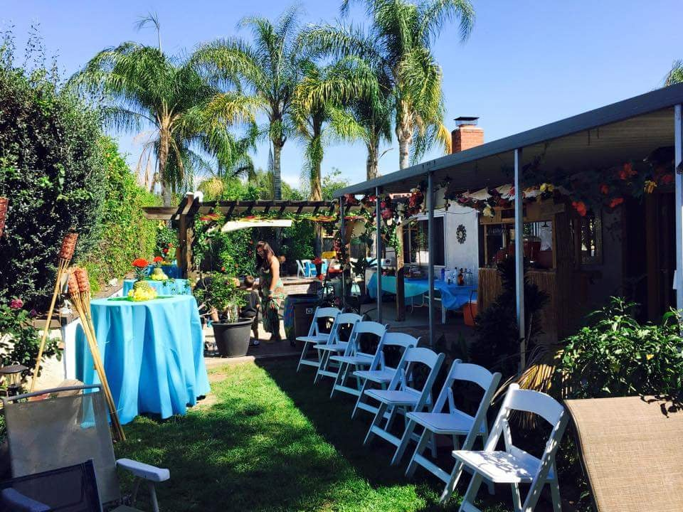 harmonious events whittier ca united states backyard luau party