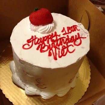 Ambrosia Bakery Baton Rouge Strawberry Cake