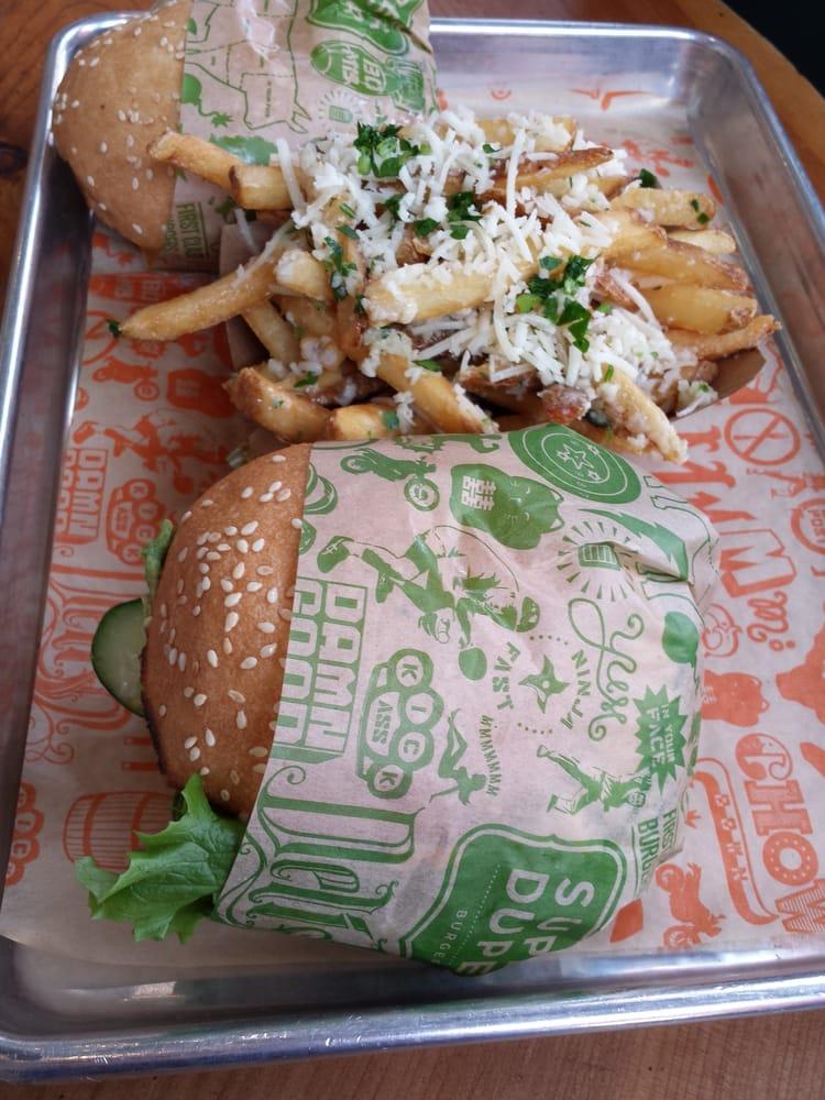 Super Duper Burger Garlic Fries Super Duper Burgers San