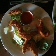 Prairie House Tavern - Buffalo Chicken Tenders ( with one or two missing) - Buffalo Grove, IL, Vereinigte Staaten