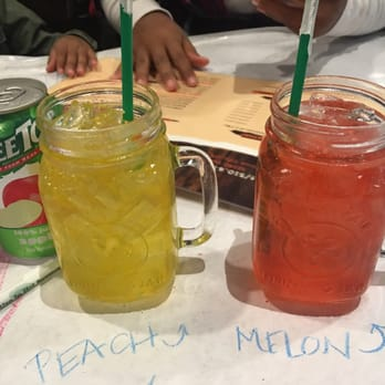 backyard bayou union city ca united states peach and melon drinks