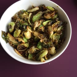 "Cuisine ""Thai Land & Sea"" - Thai style Brussel sprouts ..."