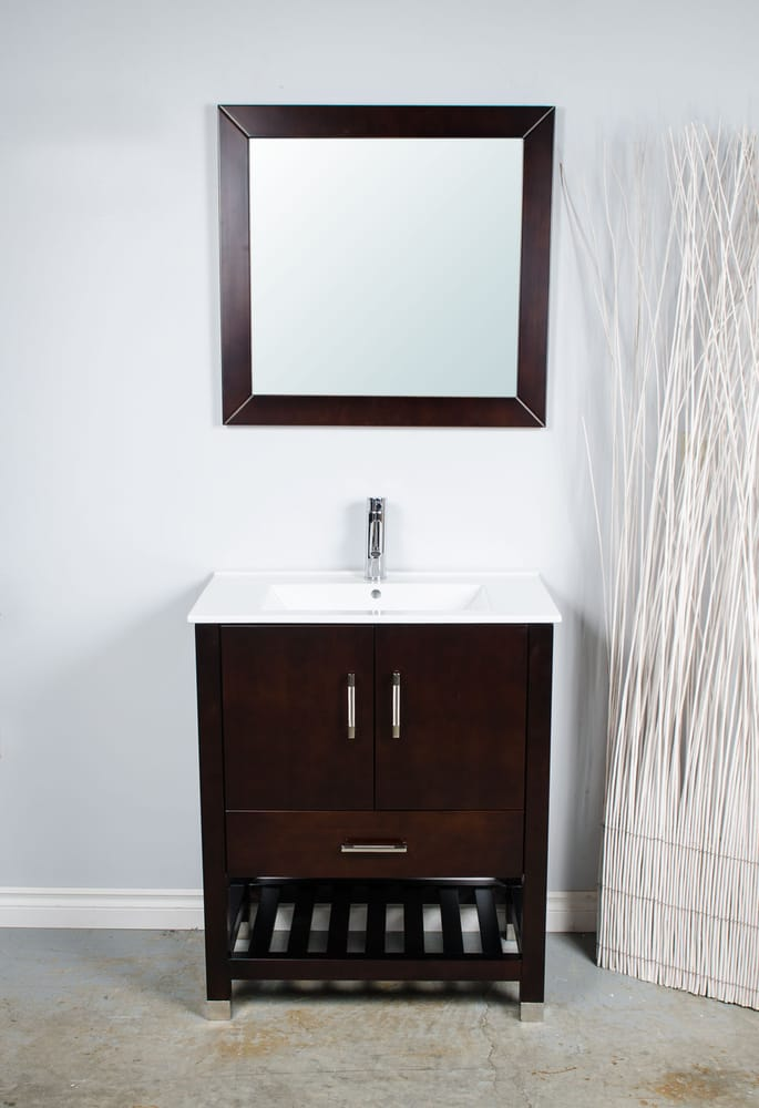 New View In Gallery The Geometric Design Of This Bathroom Shelf System Is Perfect For Modern And Contemporary Spaces Notice The Color Combo Which Matches The Nuances Featured By The Bottom  Put A Simple Open Shelf Instead Of A