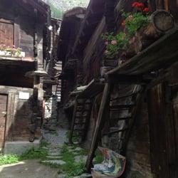 Alter Dorfteil, Zermatt, Valais