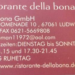 Ristorante Della Bona, Ludwigshafen, Rheinland-Pfalz