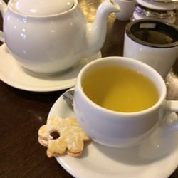 A nice hot green tea on a chilly wet…