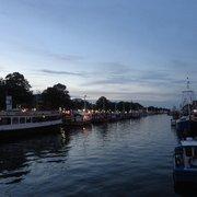 Am alten Strom, Rostock, Mecklenburg-Vorpommern