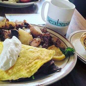 Seabreeze Cafe Breakfast Menu
