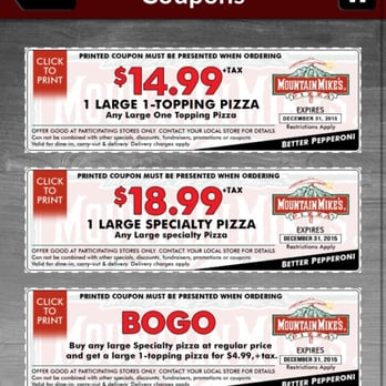 Santa rosa pizza coupons