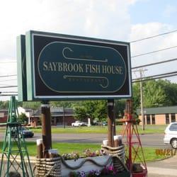 Saybrook fish house 73 photos seafood restaurants for Saybrook fish house