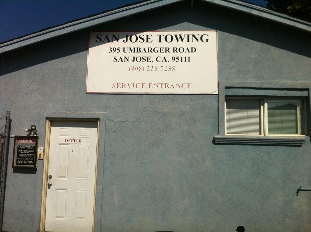 Cheap Car Towing San Jose