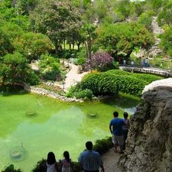 Japanese tea gardens san antonio tx united states looking over
