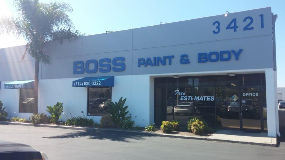 Boss Paint Body Anaheim Ca