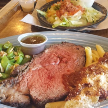 Antipasto 39 s by derose gourmet meat fish deli prime rib for Prime fish brunch