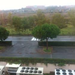 Sheraton - Vista dalla camera 4405 - Rom, Italien