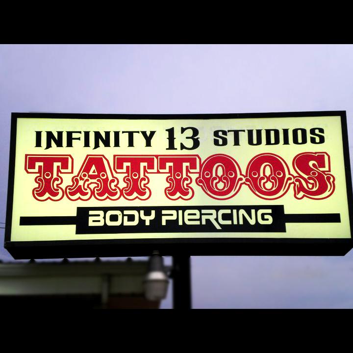 Infinity 13 studios denton piercing denton tx united for Tattoo shops denton tx