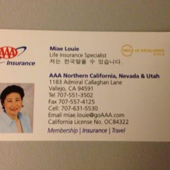 Aaa Car Insurance Vallejo Ca