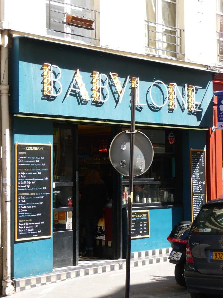 Caf Ef Bf Bd Babylone Paris