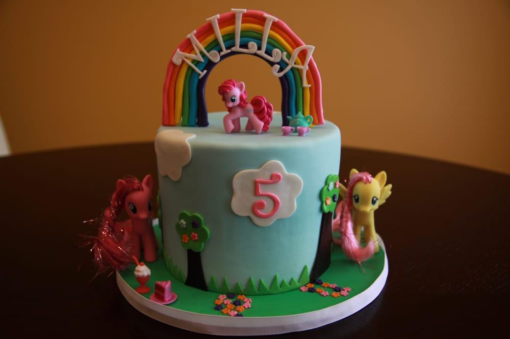 United States. My Little Pony Birthday Cake - Delicious chocolate cake ...