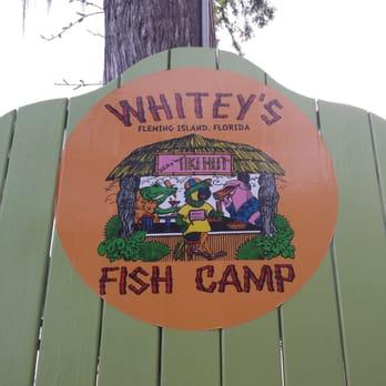 Whitey s fish camp 130 reviews 128 photos seafood for Fish camp menu