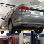 Enthusiast Auto Care - Concord, CA, United States. G20 being serviced