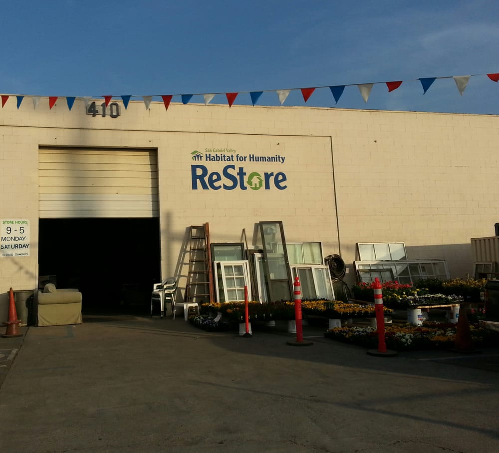 Habitat For Humanity Restore 21 Photos Building Supplies 410 S Irwindale Ave Azusa Ca
