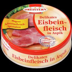 Zartes Eisbeinfleisch in Aspik, lecker…