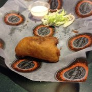 Rub BBQ and Pub - Jalapeño popper. Stuffed with brisket & cream cheese. O. M. G! - Detroit, MI, Vereinigte Staaten