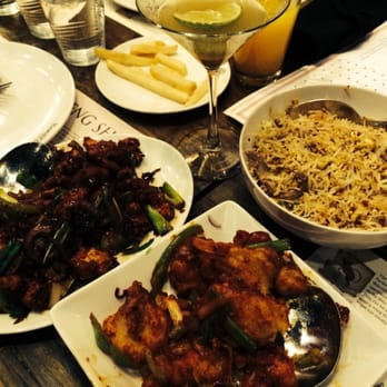 Masalatini chilli chicken burnt garlic fried rice pan fried chilli fish for Inchin s bamboo garden sunnyvale
