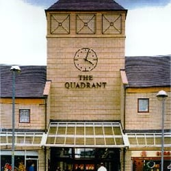 Quadrant Shopping Centre, Coatbridge, North Lanarkshire, UK