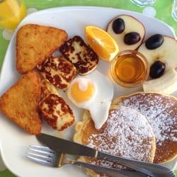 Pancake menu 5 (vegetarian)