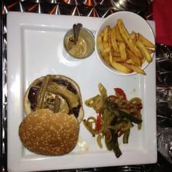 Burger avec foie gras ..