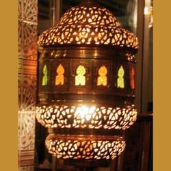 lampe faite à la main par des artisans…